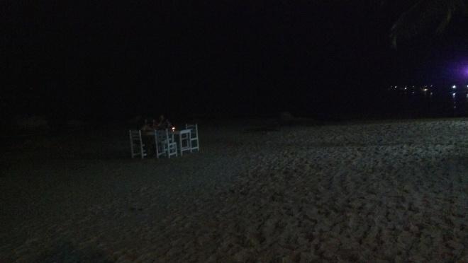 Jantar a luz de velas