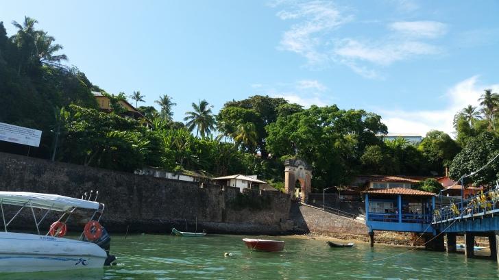 Foto: Chegada na ilha