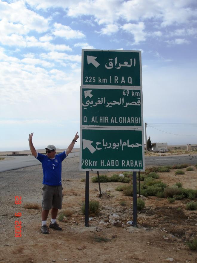 Próximos a fronteira com o Iraque